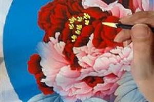 工笔画牡丹鸟技巧_跟我学工笔画牡丹与鸟教学视频22讲全集百度网盘免费下载观看