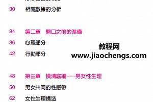 夫妻性福秘籍《口爱》让她高兴的口jiao技巧完整台湾原版高清PDF百度云网盘下载学习