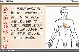 上海中医药大学针灸学视频课程徐平36讲完整版百度云网盘下载学习中医视频