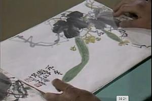 张世简写意花鸟画技法共8讲高清无水印完整版百度云网盘下载学习花鸟画视频教程