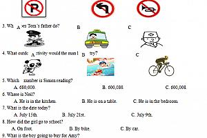 人教版7年级初一英语试题试卷可打印带答案解析单元期中期末测试题百度网盘免费下载