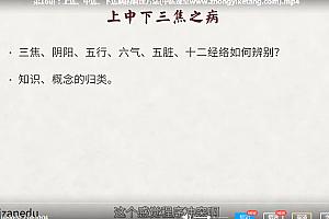 李辛中医健康观视频课程20讲百度云网盘下载学习中医教程